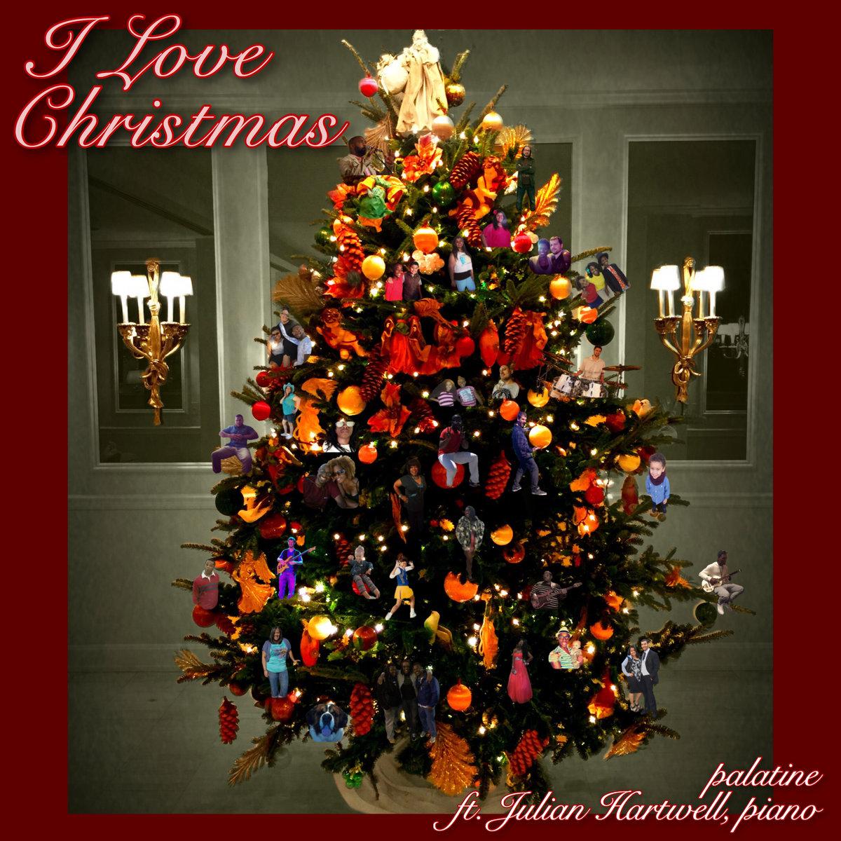 I Love Christmas.Ted Richardson Palatine I Love Christmas